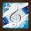 Thumbnail: 6200 - Quadro com moldura Musical