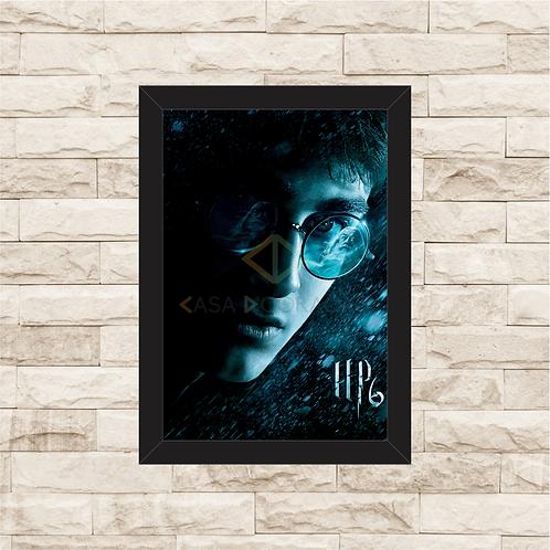 1429 - Quadro com moldura Harry Potter