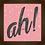 Thumbnail: 6284 - Quadro com moldura Ah!