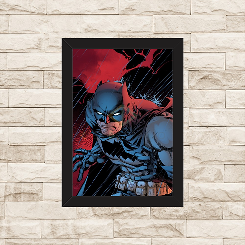 1756 - Quadro com moldura Batman