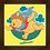 Thumbnail: 4090 - Quadro com moldura Ursinho Pooh
