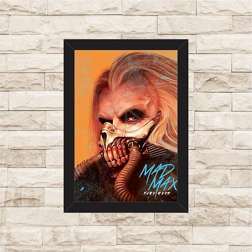 1319 - Quadro com moldura Mad Max - Immortan Joe