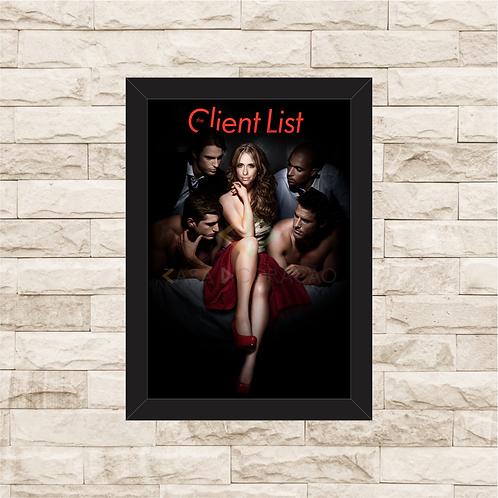 1456 - Quadro com moldura Client List