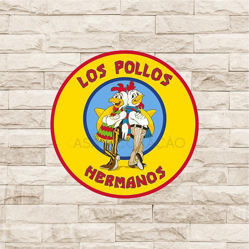 30016 - Placa Decorativa - Los Pollos Hermanos - Breaking Bad