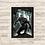 Thumbnail: 1185 - Quadro Decorativo Pantera Negra
