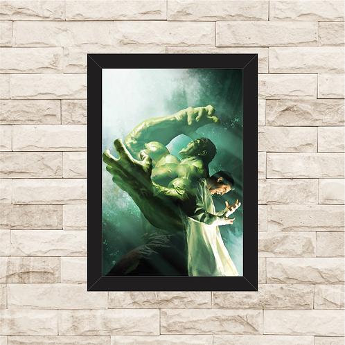 1116 - Quadro com moldura Hulk