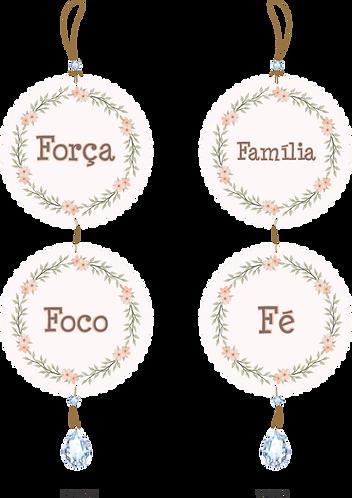 50002 - Móbile Força, Foco, Família e Fé