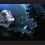 Thumbnail: 1040 - Quadro com moldura Star Wars - Darth Vader e a Estrela da Morte