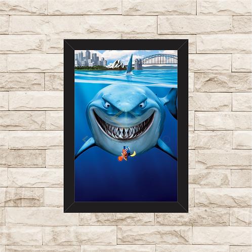 1653 - Quadro com moldura Procurando Nemo