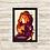 Thumbnail: 1309 - Quadro com moldura O Rei Leão