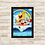 Thumbnail: 1671 - Quadro com moldura Bob Esponja