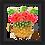 Thumbnail: 6007 - Quadro com moldura Abacaxi Aloha!
