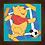 Thumbnail: 4086 - Quadro com moldura Ursinho Pooh