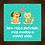 Thumbnail: 8015 - Quadro com moldura Sem Raça Definida... Cão e Gato