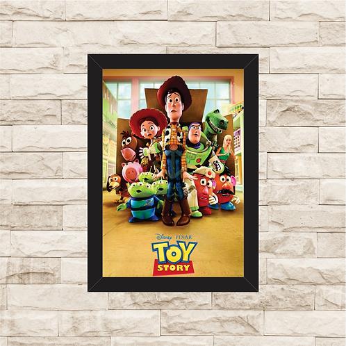 1778 - Quadro com moldura Toy Story