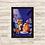 Thumbnail: 1672 - Quadro com moldura A Dama e o Vagabundo
