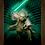 Thumbnail: 1414 - Quadro com moldura Star Wars - Yoda