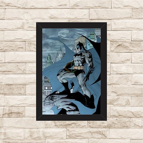 1105 - Quadro com moldura Batman