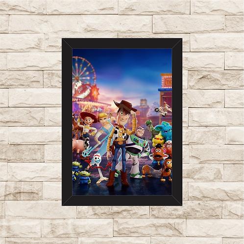 1771 - Quadro com moldura Toy Story