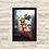 Thumbnail: 1474 - Quadro com moldura Alvin e os Esquilos