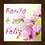 Thumbnail: 6193 - Quadro com moldura Bonito é Ser Feliz