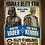 Thumbnail: 1272 - Quadro com moldura Star Wars - Darth Vader vs Obi Wan
