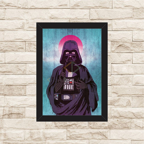 1137 - Quadro com moldura Star Wars - Darth Vader