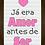 Thumbnail: 4043 D - Quadro com moldura Já era Amor Antes de Ser - Rosa
