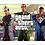 Thumbnail: 1020 - Quadro com moldura Grand Theft Auto - GTA