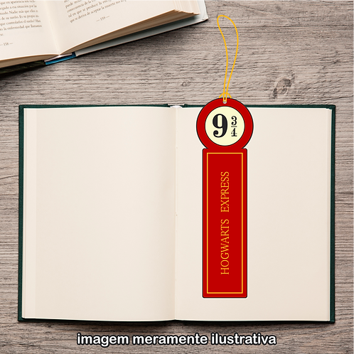 20052 - Marcador de Páginas - Harry Potter - Hogwarts Express 9 3/4