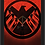 Thumbnail: 1698 - Quadro com moldura Agentes da S.H.I.E.L.D.