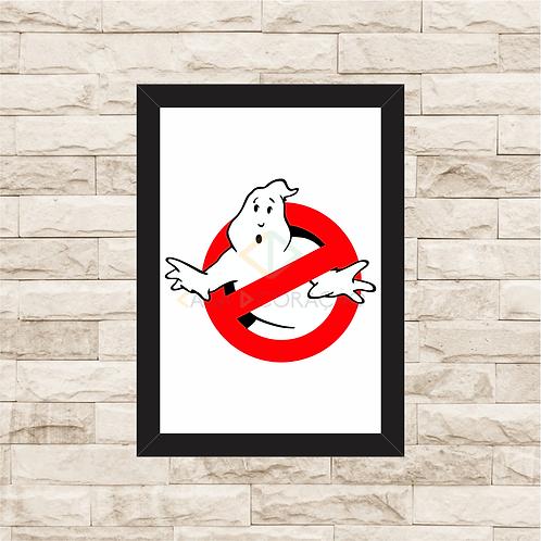 1536 - Quadro com moldura Ghostbusters