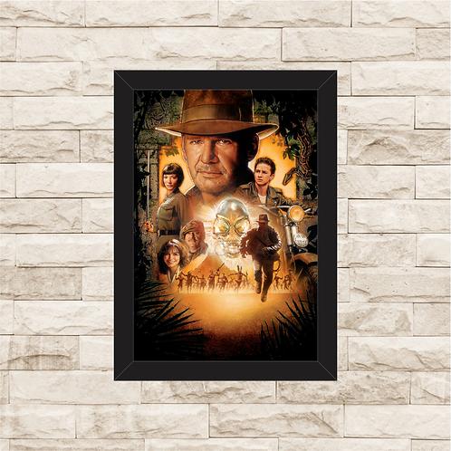 1559 - Quadro com moldura Indiana Jones
