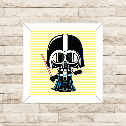 4119 - Quadro Decorativo Darth Baby