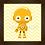 Thumbnail: 4128 - Quadro com moldura Baby C-3PO
