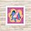 Thumbnail: 4096 - Quadro com moldura Ursinho Pooh - Bisonho e Leitão