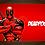Thumbnail: 1197 - Quadro com moldura Deadpool