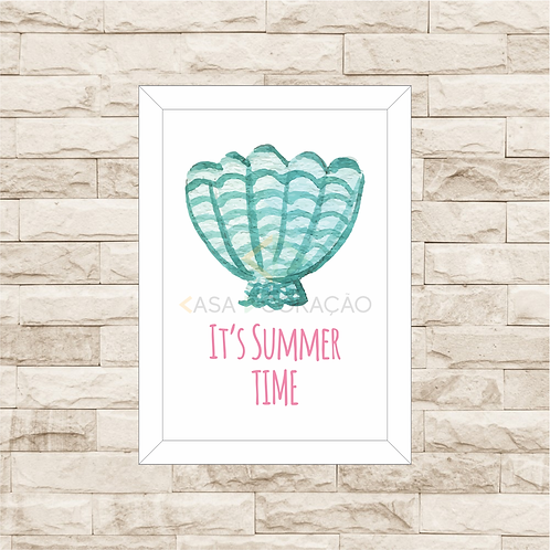 6012 A - Quadro com moldura Summer Time