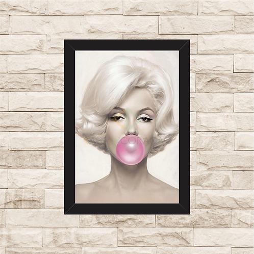 1195 - Quadro com moldura Marilyn Monroe