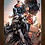 Thumbnail: 1005 - Quadro com moldura Liga da Justiça