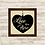 Thumbnail: 6083 - Quadro com moldura Love Lives Here