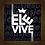 Thumbnail: 6173 - Quadro com moldura Ele Vive