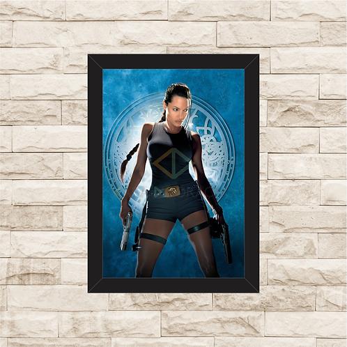 1568 - Quadro com moldura Tomb Raider