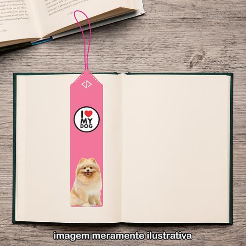 20108 - Marcador de Páginas - I Love My Dog - Spitz