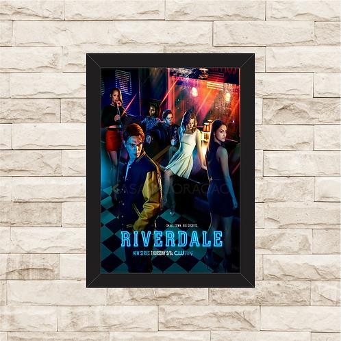 1700 - Quadro com moldura Riverdale