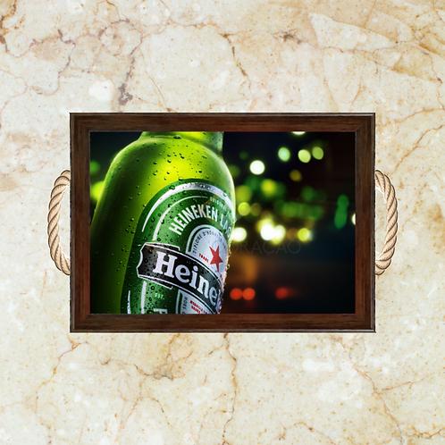 10062 - Bandeja Decorativa - Heineken