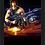 Thumbnail: 1603 - Quadro com moldura Rambo