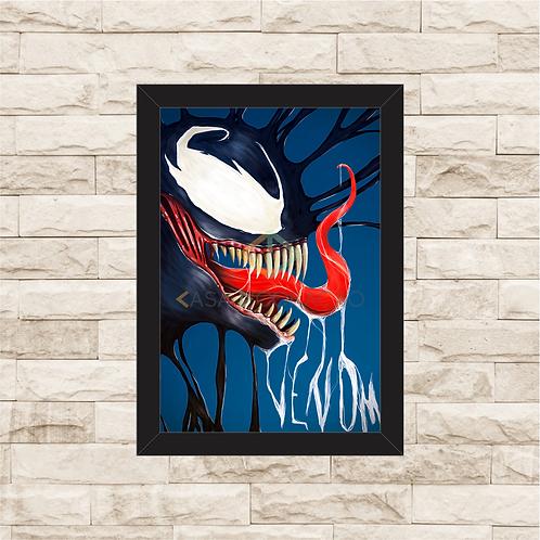 1715 - Quadro com moldura Venom