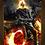 Thumbnail: 1006 - Quadro com moldura O Motoqueiro Fantasma