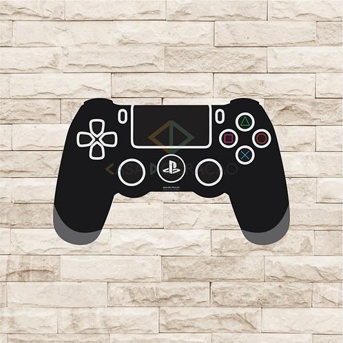 30013 - Placa Decorativa - Controle Playstation